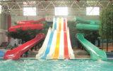 Спортивные площадки скольжения напольных центров игры пластичные на штоке (M11-04905)