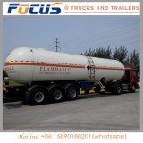 ディーゼルまたはガソリンまたは原油のための半40cbm燃料タンクのトレーラー