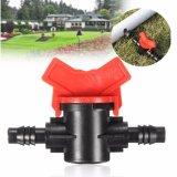 Irrigación de púas dual de la válvula de la irrigación por goteo del jardín mini