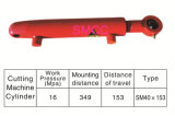Cilindro hidráulico para la maquinaria agrícola, maquinaria de construcción