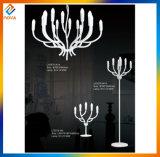 Lampe d'étage décorative de galvanoplastie en métal de modèle étranger