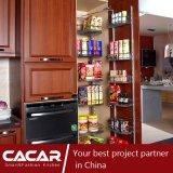 HOME do gabinete de cozinha plástico da tomada do estilo clássico do gosto (CA09-18)