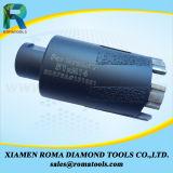 Morceaux de foret de faisceau de diamant de Romatools avec des segments protecteurs pour la pierre