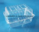 Rectángulo plástico del pan de la categoría alimenticia