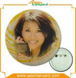 Insigne promotionnel de bouton de modèle de propriétaire