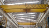 Gru a ponte della doppia trave con i magazzini ed il gruppo di lavoro elettrici della gru