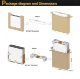Yili elektrische LED Fernsehapparat-Technologie Instrumententafel-Leuchte/quadratisches des Leuchte-/hoch Lumen-LED Panel
