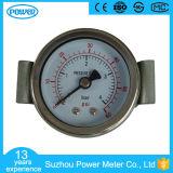 4bar 60psi desserrent le type indicateur de pression général de 40mm avec la bride