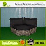 Комплект салона напольной софы угла мебели патио ротанга сада Wicker секционный