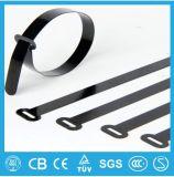 Serre-câble en nylon en plastique d'acier inoxydable de blocage de bille de serre-câble de qualité
