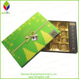 Weihnachten Chocolate Packaging Box mit Foil Stamping