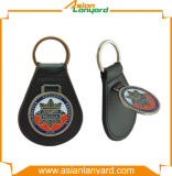 Corrente chave personalizada do couro da promoção