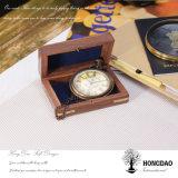 Hongdao 목제 상자, 상한 포도 수확 주문 회중 시계 선물 Box_D