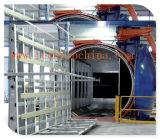 중국에 있는 유리제 박판으로 만드는 생산 라인을%s 오토클레이브