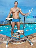 Bicicleta de exercício da água para a piscina
