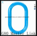 Tipo eslabón de unión oblongo de alta resistencia Gyr005 de G80 Europa