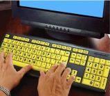 Placa chave cega de Braille da placa chave