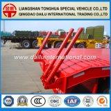 3 assen 50 van de Op zwaar werk berekende van Lowbed Lowboy Ton Aanhangwagen van de Vrachtwagen voor Verkoop