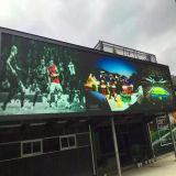 스크린 광고를 위한 옥외 P10 풀 컬러 영상 발광 다이오드 표시