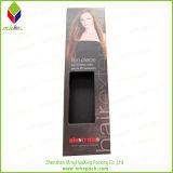 Популярная коробка волос бумаги печатание PVC упаковывая