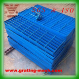 Покрашенный металл стальной штанги Grating/скрежеща для платформы