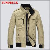 Migliore rivestimento del cotone di vendita per gli uomini in cappotto di svago