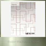 Gedrucktes Edelstahl Decortive Blatt für Baumaterial