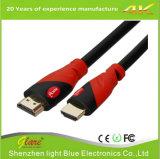 Supporto 4k*2k/60Hz cavo Colore-Popolare nero/rosso di colore HDMI 2.0V