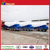 Reboque seco do petroleiro do cimento do transporte da potência Semi