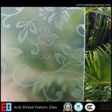 Ex .: Vidro gravado Acied / Art Glass (AD36)