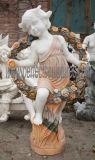 装飾(SY-X1200)のための石造りの大理石の切り分ける彫像によって切り分けられる庭の彫刻