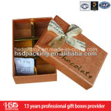 Изготовленный на заказ коробка подарка сладостного шоколада упаковывая бумажная