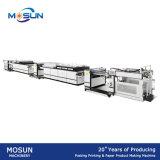 Máquina de revestimento Msgz-II-1200 UV fora de linha Semi automática