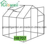 2.1m*2.2m 폴리탄산염과 Alu. 프레임 취미 온실 (HB707)