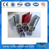 Perfiles de aluminio de la puerta 6063 T5 y de la ventana, protuberancia de aluminio, Windows de aluminio