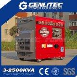 De lucht koelde Stille Diesel van het Type 5kVA Kleine Generator (DG6700SLE)