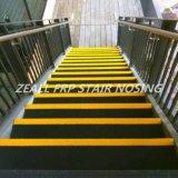 Flair antidérapage d'escalier de FRP