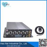 Coche DVR 4G GPS Mdvr de Caredrive 4-Channel con la tarjeta del SD del disco duro opcional