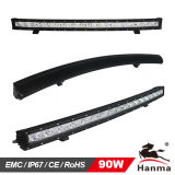 Enige Row CREE Curved LED Light Bar voor Offroad (hml-B1090X)