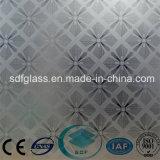 Vetro di vetro di arte inciso acido/vetro glassato/vetro decorativo con Ce, iso Sdf001