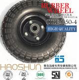 Hand-LKW-Reifen-Laufkatze-Reifen-pneumatischer Eber-Gummirad-Gummireifen 3.50-8