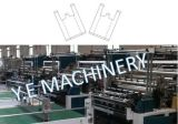 Conveyor를 가진 두 배 Layer 10 Lines Plastic T-Shirt Bag Making Machine