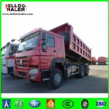 20 caminhão de Tipper pesado cúbico do camião do caminhão de descarregador HOWO de 371HP 25t