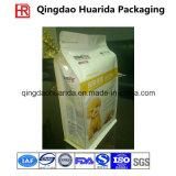 Plastica limitata impaccante di stampa variopinta che si leva in piedi in su i sacchetti dell'alimento per animali domestici