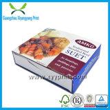 La alta calidad quita la venta al por mayor de papel del rectángulo de los alimentos de preparación rápida