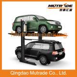 Parken-Aufzug des Pfosten-3.2ton zwei hydraulischer SUV doppelten des Zylinder-