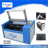 Laser 조각 기술을%s 목제 MDF 유리제 아크릴 50W/60W 작은 이산화탄소 Laser 조판공 절단기를 위한 탁상용 기계