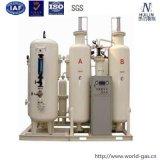 Gerador do oxigênio da pureza elevada com sistemas de enchimento