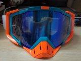 Occhiali di protezione di motocross di vetro del pattino della graffiatura di anti effetto dell'obiettivo del PC anti