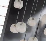 Indicatore luminoso di vetro moderno della lampada Pendant del LED, lampadario a bracci d'attaccatura di illuminazione